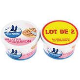 Petit Navire Rillettes De Saumon - 2x125g