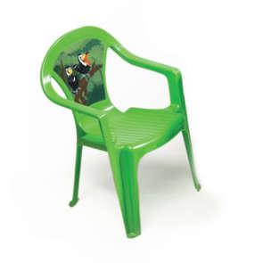 Chaise pour enfant verte