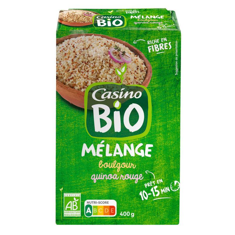 Mélange de boulgour et quinoa rouge - Biologique