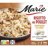 Marie MARIE Risotto au poulet surgelé et champignons à la crème - 900 g