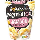 Sodeb'O SODEBO Cremio box - Jambon à la crème avec émmental - 280g