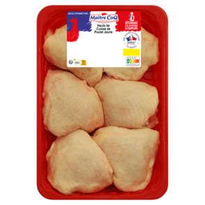 Hauts de cuisse de poulet jaune