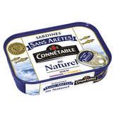 Connetable Sardines Sans Arêtes - Au Naturel - 9