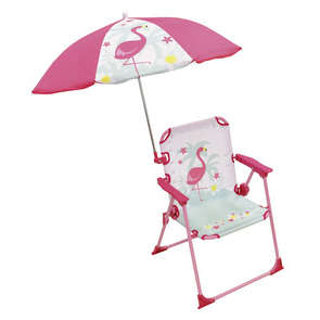 Chaise parasol FLAMAND ROSE
