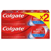 Colgate Maxwhite Dentifrice Optic - 2x75ml