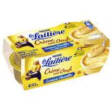 Nestlé LA LAITIERE Crème aux œufs à la vanille - 4x115g