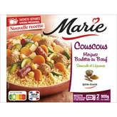 Marie Couscous Merguez Et Poulet Semoule Et Légumes -