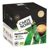 Carte Noire CARTE NOIRE Bio - Espresso - Subtil et Fruité - 16 Capsules ... - 128g