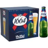 1664 1664 Bière blonde - Alc. 5,5% vol. - 12x33cl