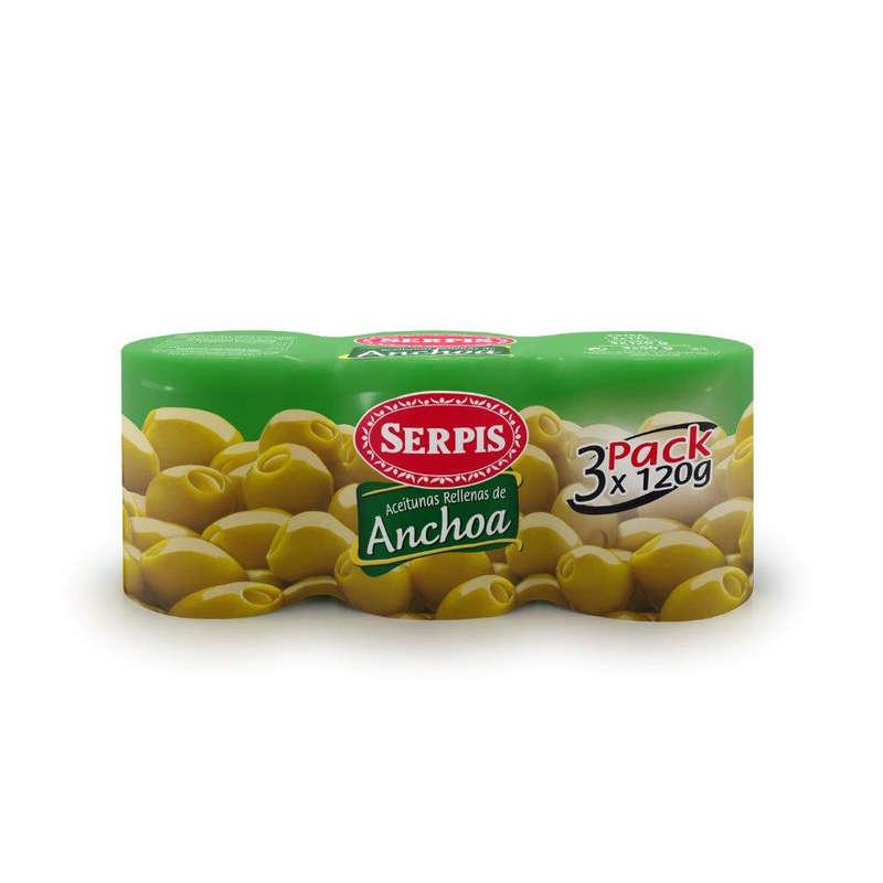 BAÏONADE Olives aux Anchois - Produit régional