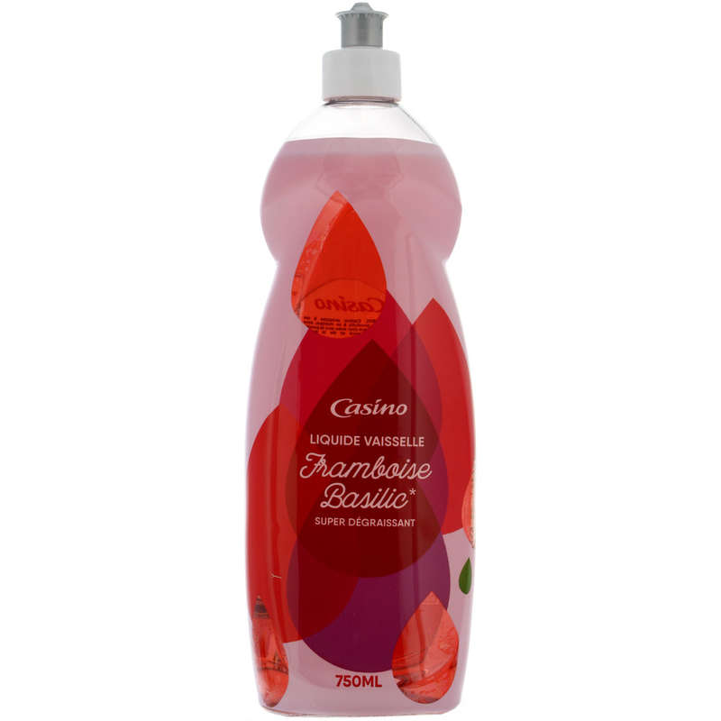 Liquide vaiselle - Parfum framboise basilic