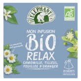 Elephant ELEPHANT Infusion - Relax - Biologique - 26g