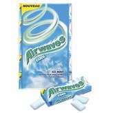 Airwaves Cool Ice Mint Goût Menthol Et Menthe Glacée 5 X 10 Dragées 70g