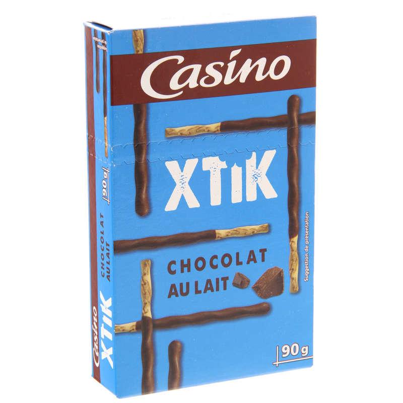 Xtic - Bâtonnets de biscuit vrillés nappés de choc