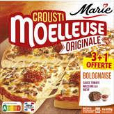 Marie Crousti Mouelleuse - Pizza - Bolognaise - 4x400g