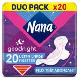 Nana Serviettes Ultra Dryfast Goodnight
