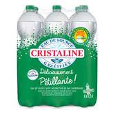 Cristaline Eau Gazeuse - 6x1,5l