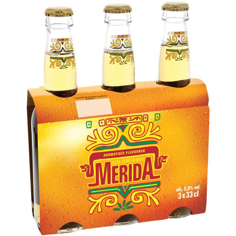 MERIDA Bière blonde - A la tequila - Bouteille - Alcool 5,9%...