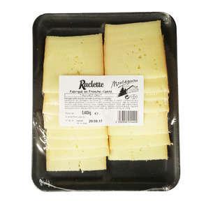 Raclette lait cru tranchette - 28% mg
