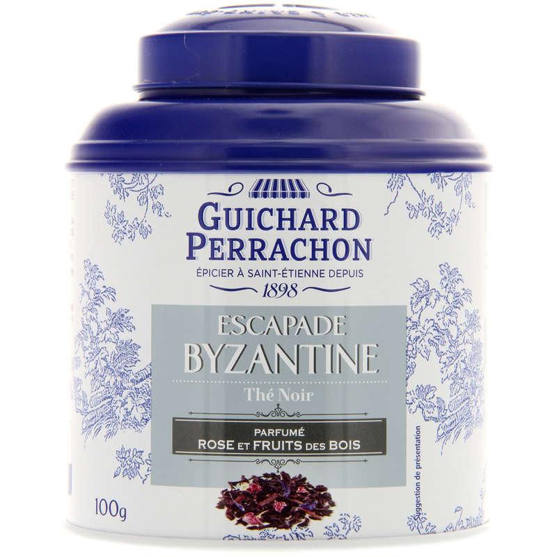 Escapade Byzantine -Thé noir rose et frui...