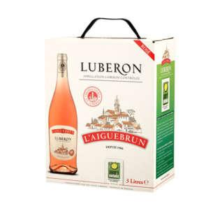 Luberon - Vallée du Rhône - L'Aiguebrun - Vin rosé