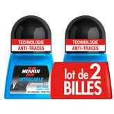 Mennen MENNEN Intraçable - Déodorant bille - Anti-traces blanches &... - 2x50ml
