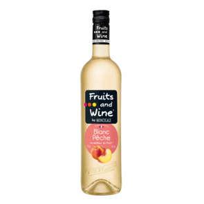 Fruits and wine - Blanc Pêche - Alcool 7% vol.