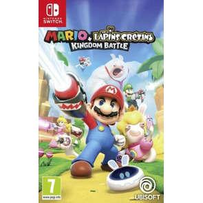 Jeu SWITCH Mario et lapin crétin