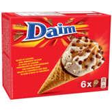 Daim DAIM Glace au caramel avec morceaux de daim et sauce caramel... - 390gr