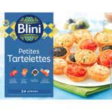 Blini Les Petites Tartelettes Surgelées - X24 (300g)