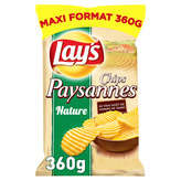 Lay's LAY'S Chips - Paysannes - Nature - 360g