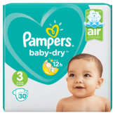 Pampers Baby Dry - Couches - Taille 3 - X30