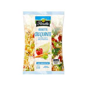Assiette Croquante - Mélange de salades