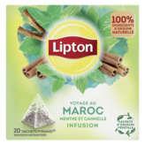 Lipton LIPTON Infusions menthe épices maroc - 40g