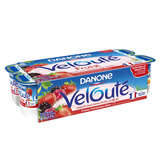 Danone Velouté Fruix - Yaourt - Panaché De Fruits Rouges - 8