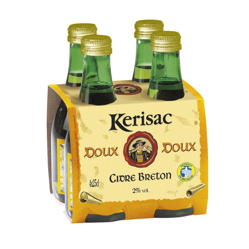 Loic Raison - Cidre breton doux 2% 4x25cl