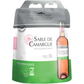Sable de Camargue - Vin rosé - Biologique