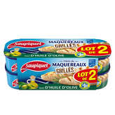 Saupiquet Filets De Maquereaux - Grillés - Trait D'huile D'o... - 2x120g