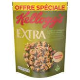 Kellogg's Extra - 4 Noix Et Copeaux - Saveur Caramel - 600g
