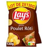 Lay's Chips - Poulet Rôti - 2x130g
