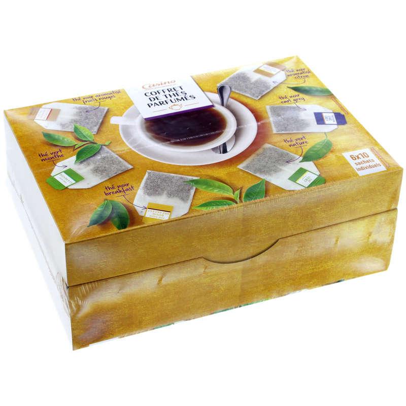 CASINO Thés - Coffrets - Thés parfumés - 6x10 sachets indivi...