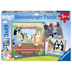 Puzzle 3 x 49 pièces