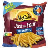 Mc Cain MC CAIN Just au four - Frites - Allumettes - 1,56kg