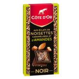 Côte d'Or Tablette De Chocolat Noir - Eclats De Noisettes C... - 103g