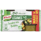 Knorr Bio Marmite - Bouillon De Légumes - Biologique - X6