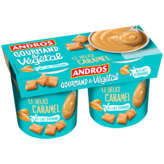 Andros ANDROS Le Délice caramel - Dessert au lait d'amande - Gourma... - 2x120g