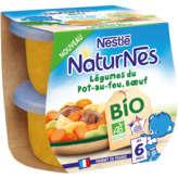 Nestlé NESTLE Naturnes - Légumes pot au feu Bœuf - Bol - Dès 6 mois... - 2x190g
