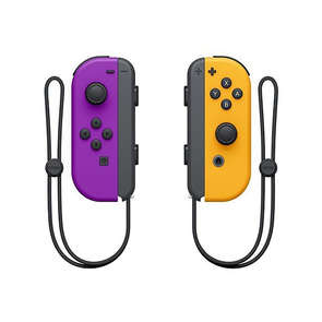 Manette SWITCH Joy-con violet et orange