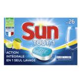 Sun Citron - Tablettes Pour Lave Vaisselle - 2 Mois De Lavag... - 1
