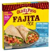Old El Paso Kit Pour Fajitas - Extra Doux - Sans Piment - 8 ... - 478g